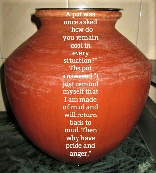 Ode to an earthy urn