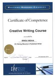 certificate of competence, writer bureau